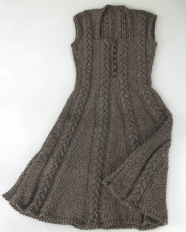 icon stunning knitted dress knitting kit