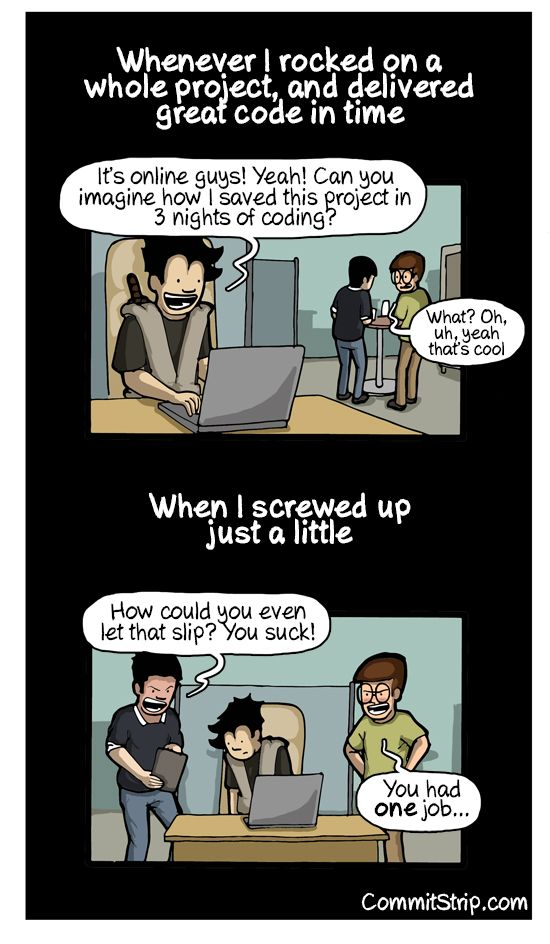 They should learn to say thank you to coders | CommitStrip - Blog relating the daily life of web agencies developers