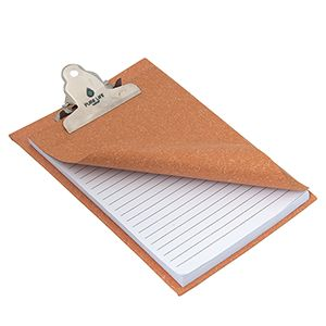 Mini Clip Board Memo Pad (From $4.32) - Why bother with a full clipboard when you can stash this compact puppy into your bag, tote, briefcase, lunchbox, etc. Stocked with 80 sheets of lined paper, this pad is ideal for keeping notes on the go! Perfect for your long-standing hit list.