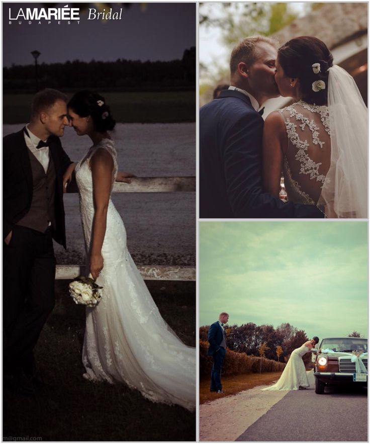 Erika bride by La Mariée Budapest bridal  #Laren dress by Pronovias http://lamariee.hu/eskuvoi-ruha/pronovias/laren
