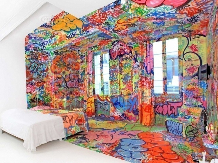 Graffiti room a collection of home decor ideas to try for Autrefois home decoration marseille