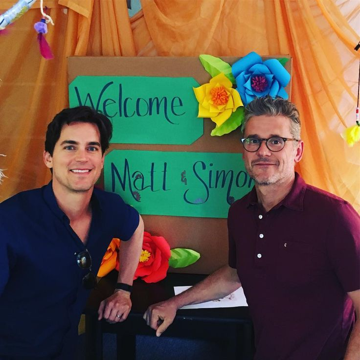 "Matt Bomer (@mattbomer) on Instagram: ""Thank you Hollygrove for giving Simon and I a tour yesterday. The work you're doing with at risk…"""