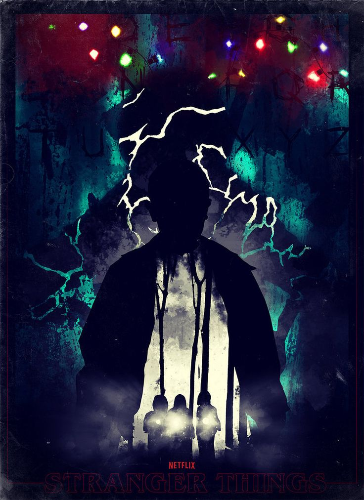 Stranger Things fan art poster