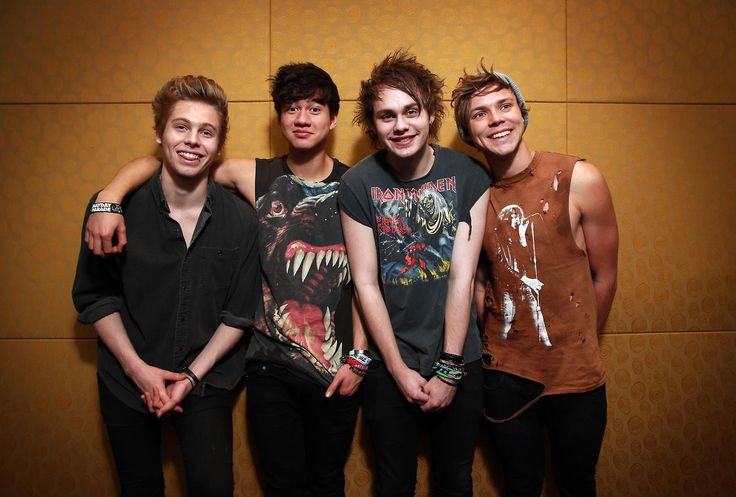 5 Seconds of Summer Photoshoot #5SOS