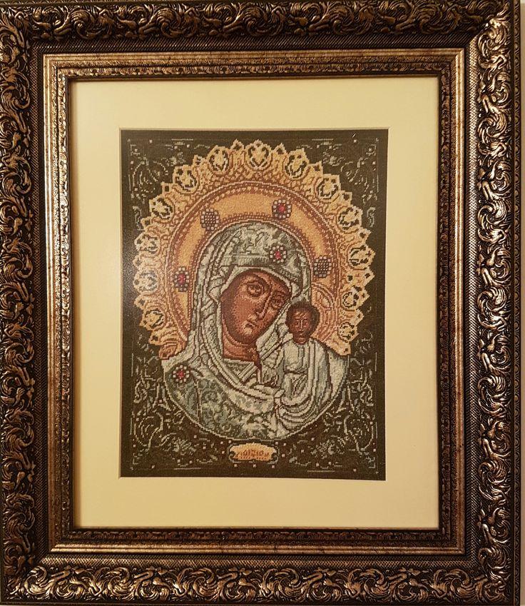Religioase - Dimensiuni goblen cusut 27 x 33 cm, ( + Rama, Passepartout, Sticla antireflex ) 1091 Euro  Pret: 5.018,60 RON