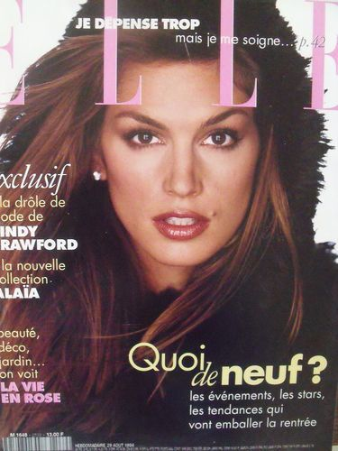 How tall is cindy crawford-8367