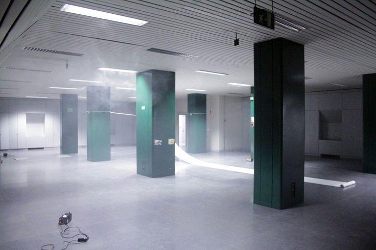 Marco Vitale, Astanteria, 2016, installazione ambientale.
