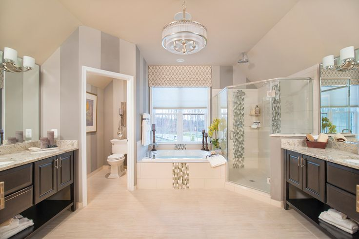 The perfect master bathroom toll brothers at arundel for Perfect master bathroom