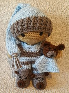 This pattern includes all of the info for making these adorable Snuggly PJ…