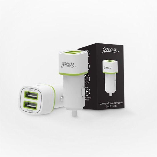 Carregador Veicular Duplo USB Gocase - Gocase