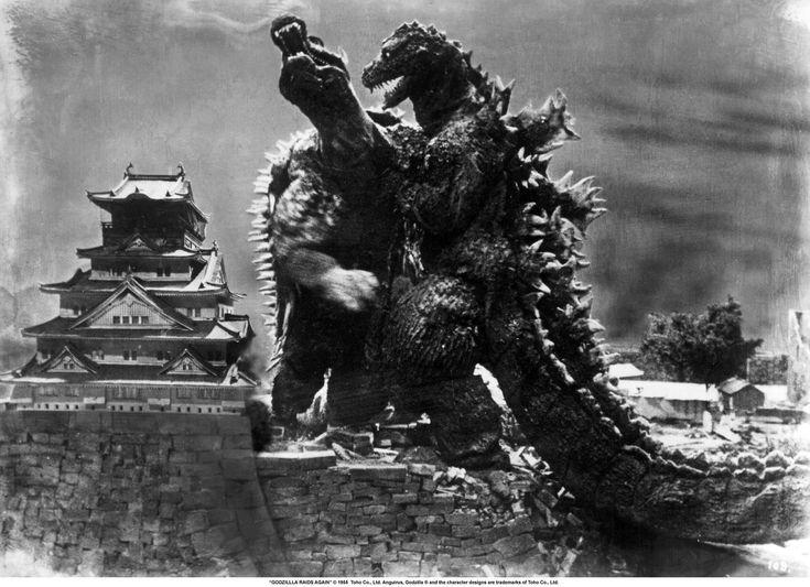 godzilla | ... Del Cielo: JapanTourist: Godzilla Takes On Angilas At Osaka Castle