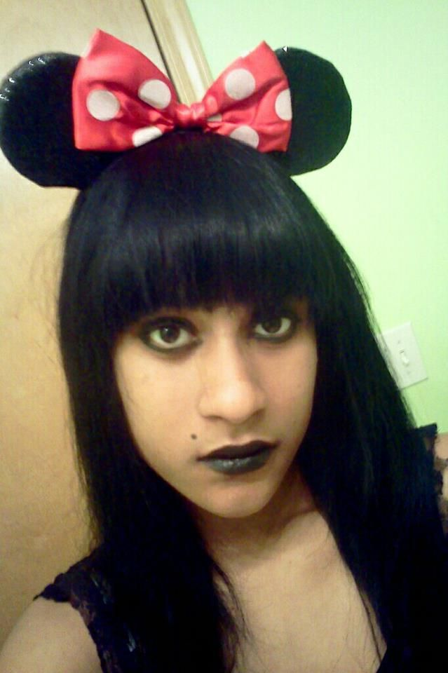 Minnie Mouse Ears Mouse Ears Black Girls Goth