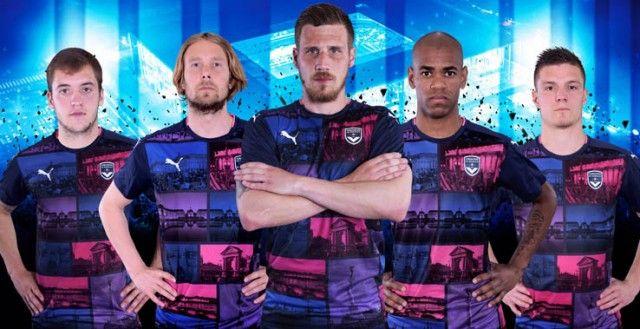 Camisas do Bordeaux 2016-2017 Puma