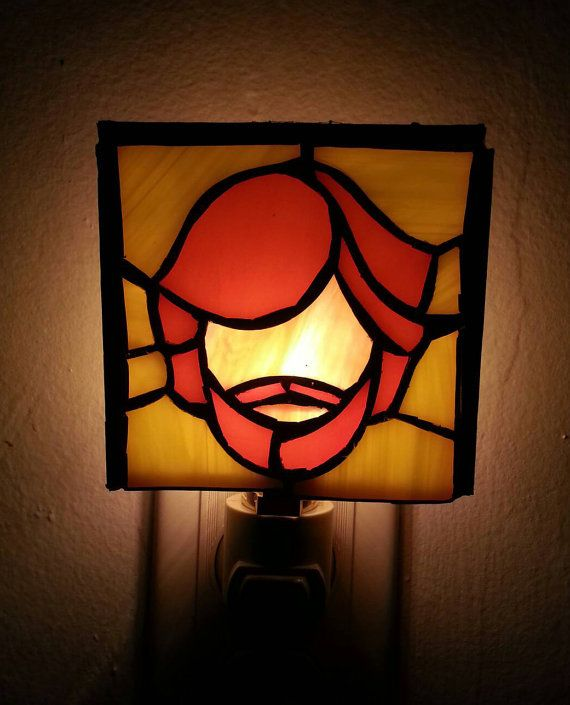 Trey Stained Glass Night Lite