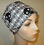 Chococat Scrub Cap Nurses Hat Chemo Hat Pediatric Scrub Cap