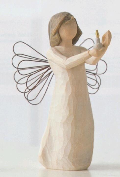 I love my Willow Tree Angels collection.