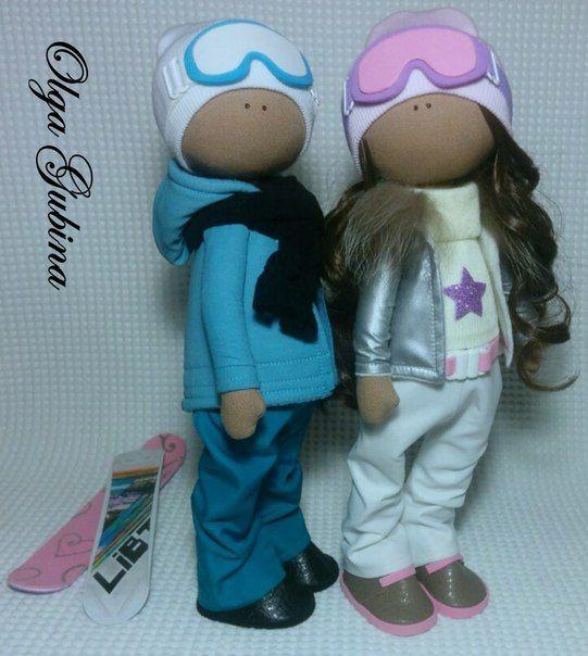 Фотографии Куклы тильда