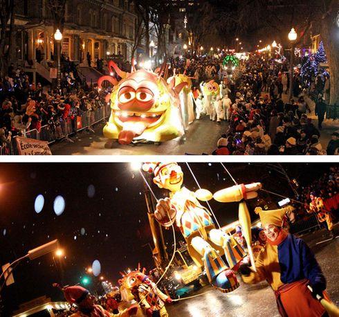 Défilé de nuit du Carnaval de Québec
