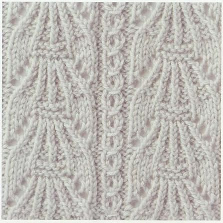1000+ ideas about Lace Knitting Stitches on Pinterest Stitches, Knitting St...