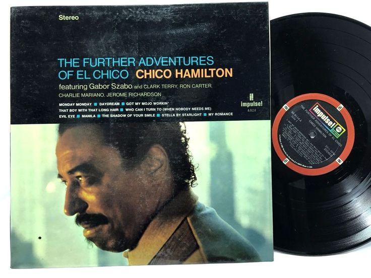 Chico Hamilton The Further Adventures of El Chico impulse AS-9114 Vinyl #Records