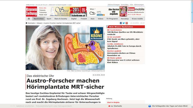 Eines meiner Business Portraits in der Österreichischen Kronen Zeitung