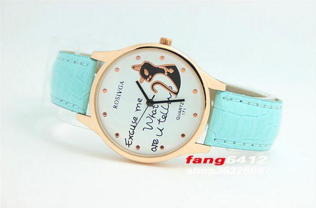 CURREN Watches - Cat-Detail Croc-Grain Strap Watch #watch #strapwatch #catdetailwatch #crocgrainstrapwatch