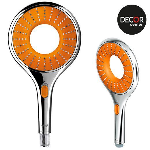 Griferia Para Ducha Gl:Ducha de color naranja