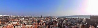 Toruń moje miasto: Toruń -widoki z wieży Ratuszowej