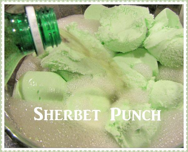 Sherbet Wedding Punch