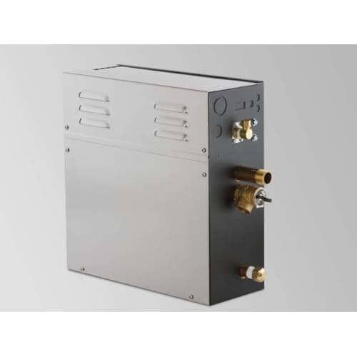 Steamist TSG-12 Total Sense 12 Kilowatt 240 Volt Single Phase Steam Generator, Silver stainless steel