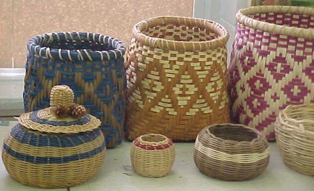 Native American Basket Weaving Kits : Best images about cherokee baskets like my grandma made