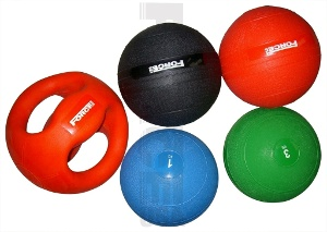 Force USA Rubber Medicine Ball - 1kg