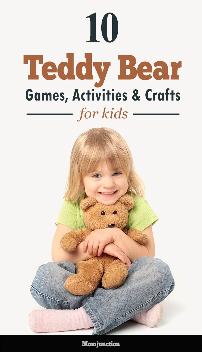 Top 10 Teddy Bear Games, Activities & Crafts For Kids :we list some Teddy bear inspired #crafts, games and activities for kids.