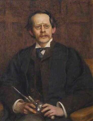 """Sir Joseph Thomson (1856-1940), Cavendish Professor (1884-1919)"" by Arthur Hacker"
