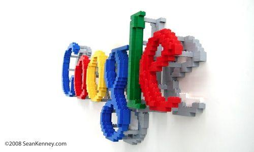 Google LEGO logo // Denmark HQ