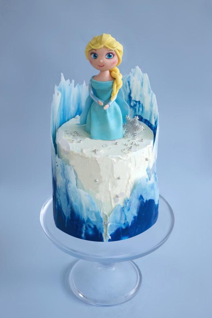 Торт Холодное сердце - Кондитерская студия Markus Pastry - торты и сладости на заказ
