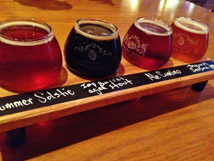 beer flight . . .
