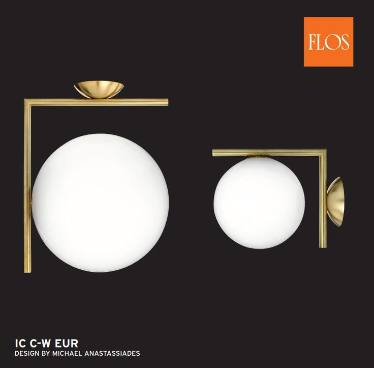 Flos iC Globe Lights by Michael Anastassiades: Perfectly Still and Balanced. In the picture: #ceilinglights and #wallLamps at www.sparksdirect.co.uk