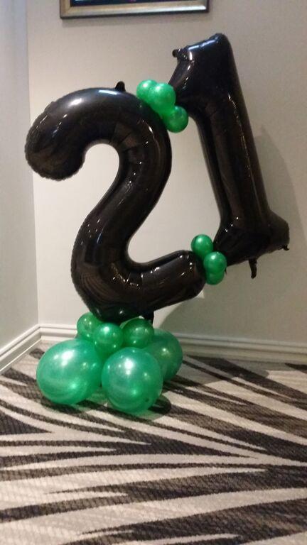 21st Birthday Balloon Decorations in Sydney | Balloon Delivery. balloonart.com.au
