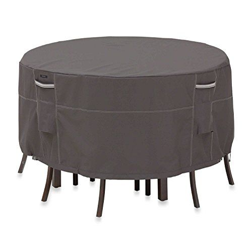 Classic Accessories 55-157-035101-00 Table and Chair Cover For Sale https://patiofurnituresetsusa.info/classic-accessories-55-157-035101-00-table-and-chair-cover-for-sale/