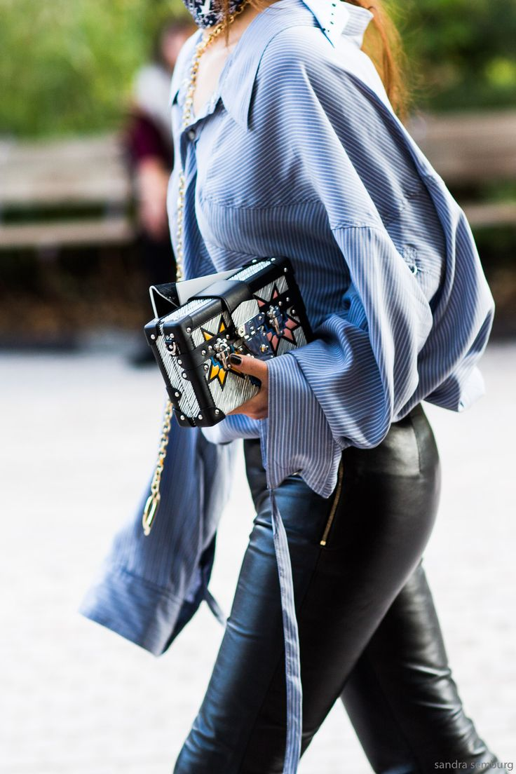 Paris Fashion Week / Street Style #streetstyle #fashion #streetfashion
