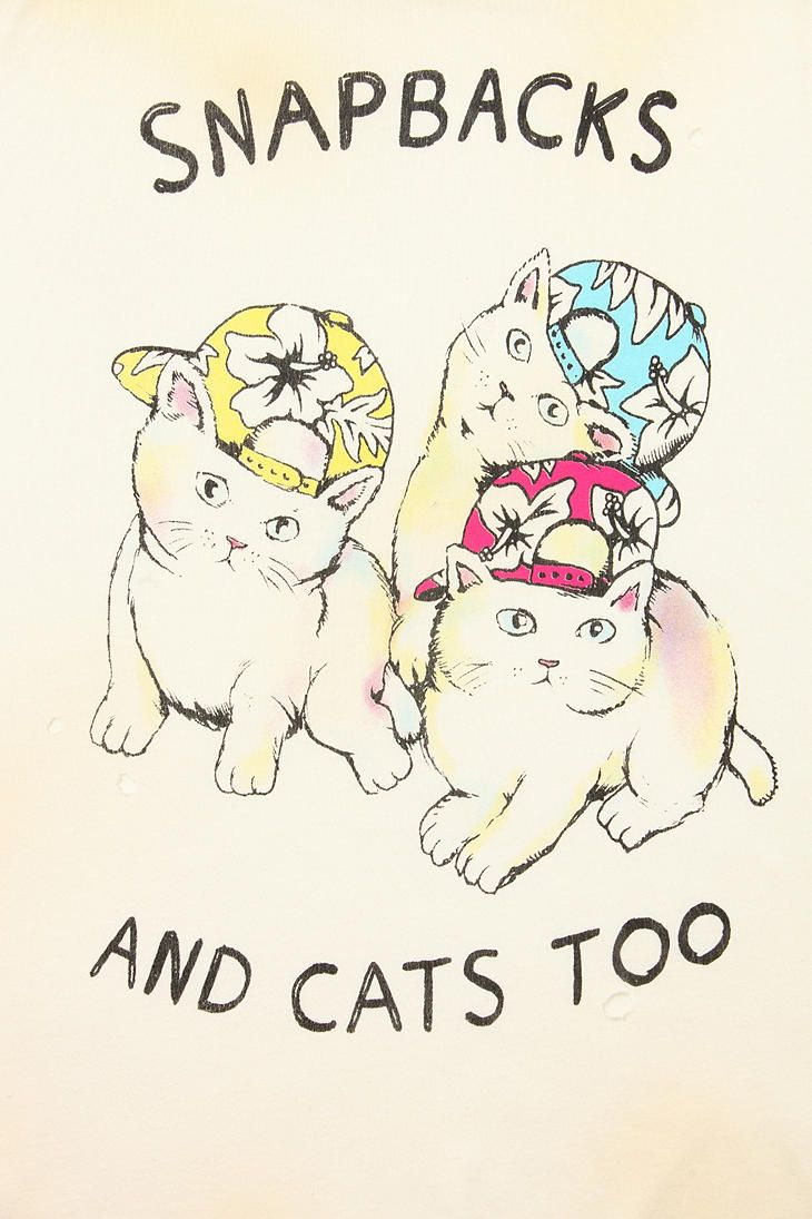 UNIF Snapbacks Kittens Muscle Tee