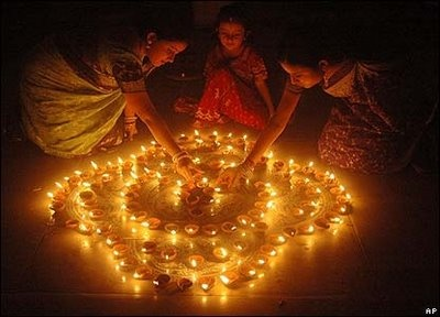 "Diwali, celebrated between mid-October and mid-December is known as ""the Festival of Lights"". While people celebrate by lighting candles, the deeper meaning centers upon awareness of the light within."
