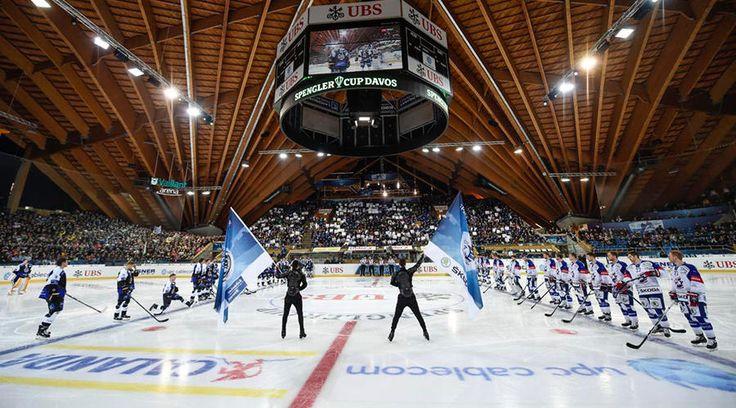 Eishockey-Fest startet mit Torspektakel | Spengler Cup