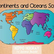 Continents/Ocean Song (and Video!)