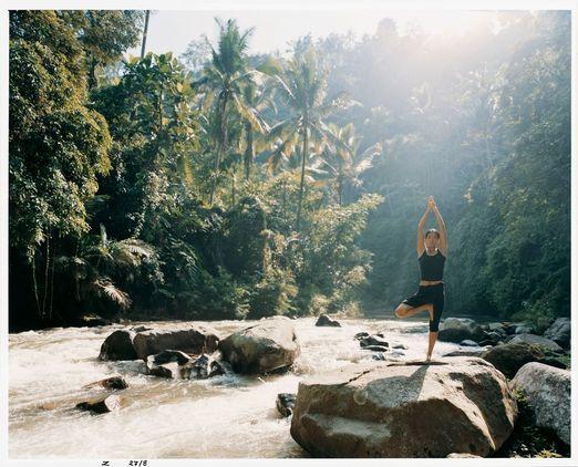 1. Yoga on Ayung River. Photo courtesy of Como Shambala Estate.