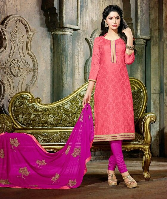 Get a little pink  on your everyday look. #fashion #india #indianfashion #womenswear #women #ethnicwear #everydaywear #newcollection #newarrivals #discounts #kurtis #sarees #dressmaterials #promotion #onlineshopping #worldwideshipping #ethnicwear #suits