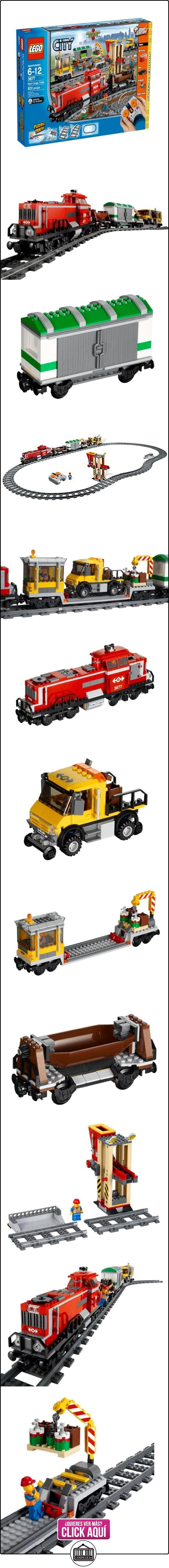 LEGO City - Tren de carga rojo con pista  ✿ Lego - el surtido más amplio ✿ ▬► Ver oferta: https://comprar.io/goto/B005DROHGS