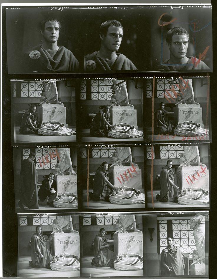 Julius Caesar featuring Marlon Brando, 1953
