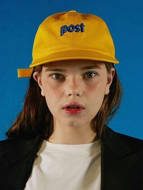 ADER ERROR Post A Cap Yellow